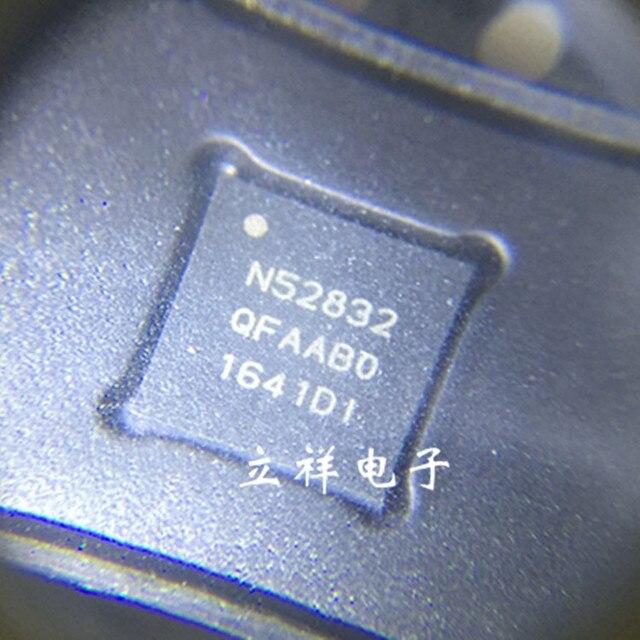 Бесплатная доставка NRF52832-QFAA NRF52832-QFAA-R N52832 NRF52832 5 шт./лот 100% новое и оригинальное