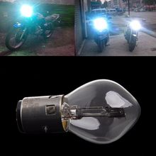 ATV Moped Scooter Head Light Bulb Motorcycle Light 12V 35W 10A B35 BA20D Glass motorcycle accessories New(China)