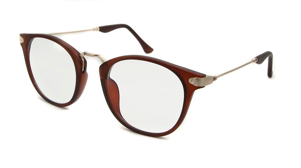 women eyewear brown