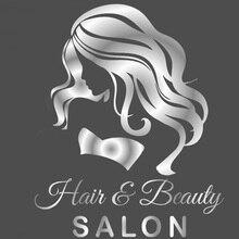 Hairdresser Beauty Salon Girls Wall Art Stickers Decals Vinyl Home Room Decor Removable Mural Waterproof Wallpaper E537