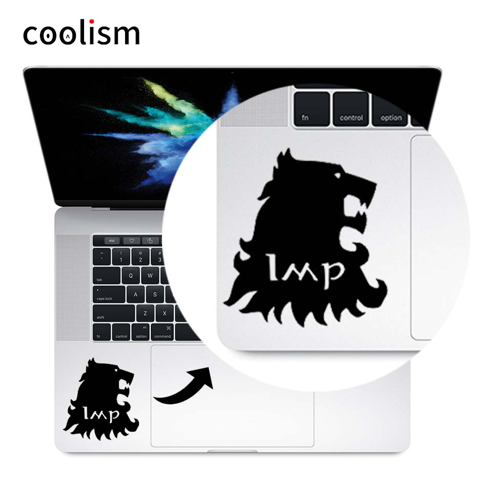 Game of Thrones Vinyl Laptop Decal Trackpad Sticker for 11 12 13 15 inch Macbook Skin Pro Air Retina Mac Notebook Touchpad Decal ...