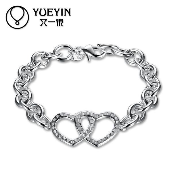 1b25db973740 Nuevo diseño al por mayor de plata chapada pulsera popular de la joyería  para las mujeres