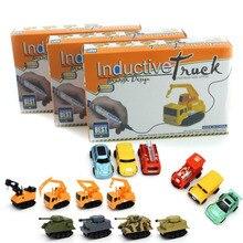 Různé druhy aut pro děti – auto + speciální tužka