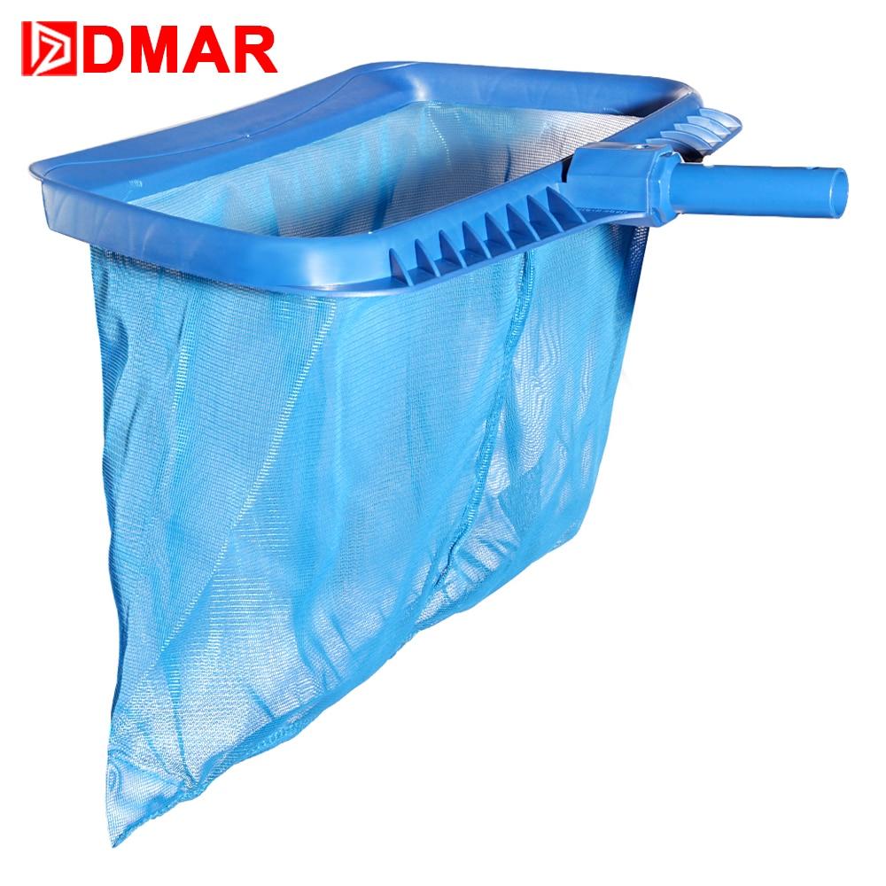 DMAR Swimming Pool Skimmer Super Net Cleaner Leaf Rake Mesh Net Pool Tools Deep Bag Replaceble Cleaning Equipment Accessories