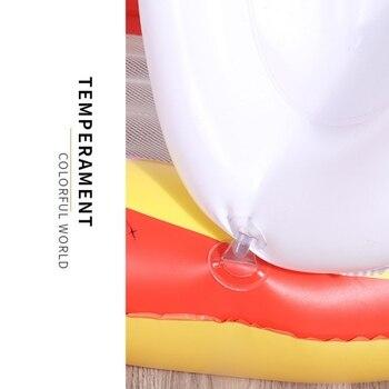 детские кресла | 160*90 см надувной сарай Зонт плавающая кровать Floatable складной откидной гамак для воды коврик для бассейна для взрослых детей
