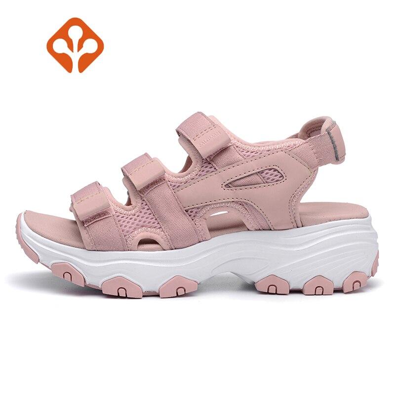 2018 Real New Salaman Women's Summer Outdoor Hiking Sandals Shoes Sneakers For Women Sports Water Trekking Beach Schuhe Female