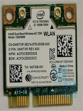 Wi-fi-карта для intel Dual Band Wireless-AC 7260HMWAC 7260HMW half Mini PCI-e BT4.0, wi-fi-карта D P/N:0NMTXR REV A00