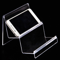 Wholesale 3pcs Plastic Multifunctional Clear View Wallet Phone Display Stand Card Holder Rack 2 Layers