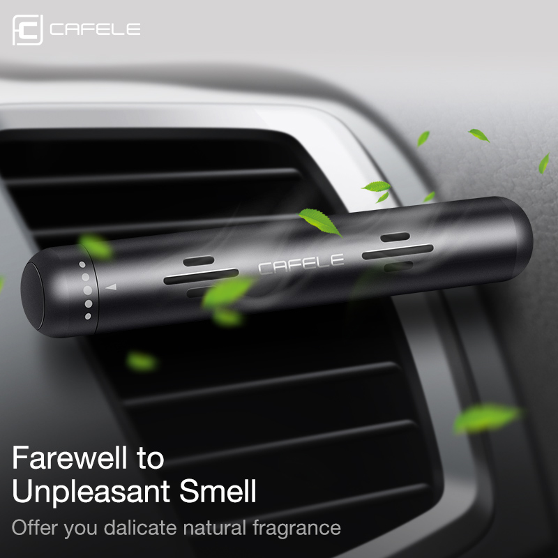 Cafele Car Air Diffuser Freshener Solid Air Purifier for Car Perfume Vehicle Aroma for Bedroom Office Car Travel