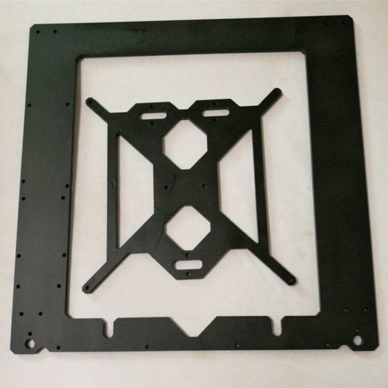 3D printer frame Compatible with Reprap Mendel i3 frame case 6mm thickness oxidation aluminum alloy metal case 3d printer repraptantillus 3d printer 6mm acrylic laser cut frame kit set 6mm thickness high quality free shipping page 9