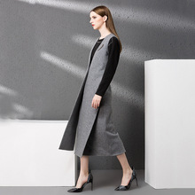 2017 Vest Women Winter Coat Elegant Runway Womens Wool Cashmere Clothing Plus Size Windbreakers Overcoat Cape