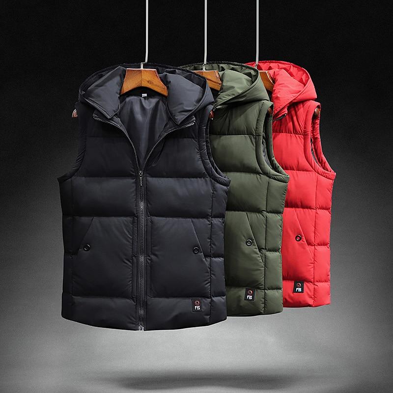 men winter warm vest   coats   fashion   down   jackets male dress clothing fashion streetwear casual clothes travel   coat   suit for men