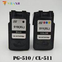 PG 510 CL 511 Ink Cartridge For Canon pg 510 PG510 CL511 Pixma iP2700 MP250 MP270 MP280 MP480 MX320 MX330 MX340 MX350 Printer