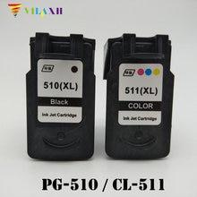 PG-510 CL-511 Ink Cartridge For Canon pg 510 PG510 CL511 Pixma iP2700 MP250 MP270 MP280 MP480 MX320 MX330 MX340 MX350 Printer картридж с чернилами rx 2 1 canon pg 510 cl 511 canon mp270 mp280 mp480 mp490 mx350 mp240 ip2700 pg 510 cl511