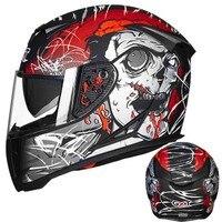 Winter warm GXT full face helmets double visor motorcycle helmet Motorbike capacete M L XL XXL
