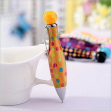 1 Pcs Creative Rotate ballpoint pen Kawaii students Writing pens Stationery Office school supplies недорого