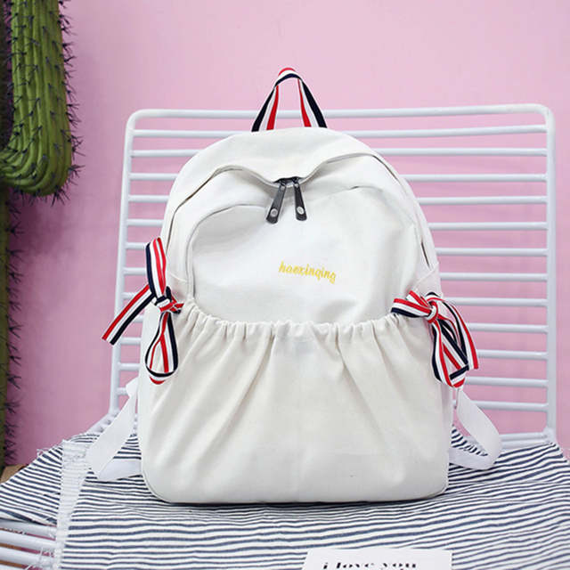 79470e02d9b5 US $7.01 41% OFF|Aelicy Luxury Japan and Korean Style Canvas Backpack  Teenagers Girls Travel Bag Laptop Backpacks Canvas Rucksack Vintage  mochila-in ...
