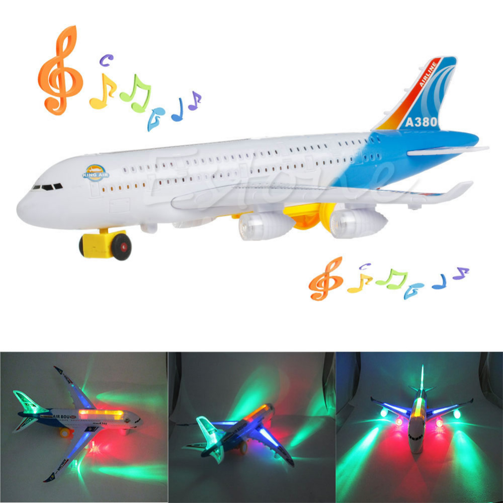1pc electric airplane plane flash sound aircraft kids toy best gift for children new in diecasts toy vehicles from toys hobbies on aliexpresscom