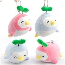1Pcs Space cotton penguin Small Pendant Cartoon Chicken Cute Penguin Plush Doll Mobile Phone Ornaments Mini Toys