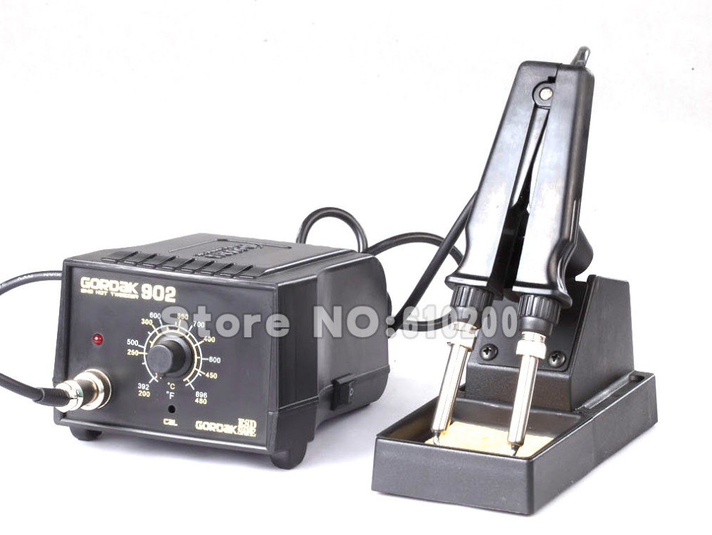 GORDAK 902 ESD SMD Soldering Tweezer Repair Rework Station Electric heating pliers Constant temperature heating tweezers 220V