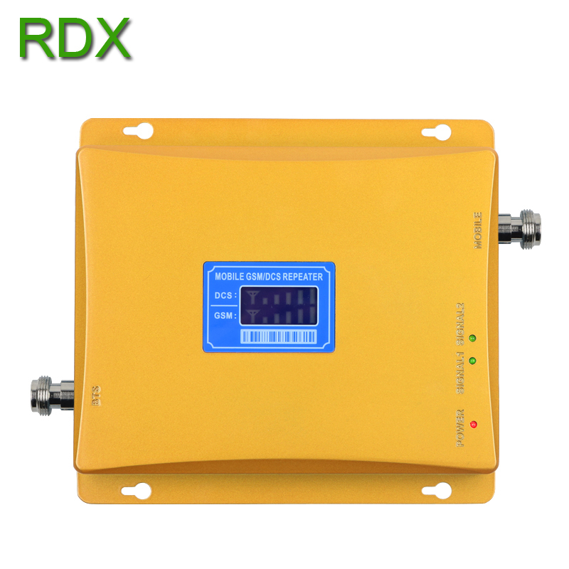 Cellphone Dual Band GSM 4G Signal Booster High Quality Mobile Phone 2G GSM 900mhz 4G DCS 1800mhz Signal Repeater Amplifier in Signal Boosters from Cellphones Telecommunications