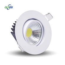 QLTEG Dimmable Led downlight light COB Ceiling Spot Light 3w 5w 7w 12w AC85-265V ceiling recessed lamps Indoor Lighting 4000K