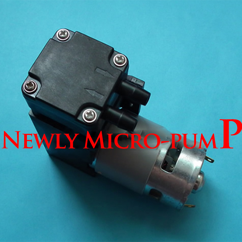 Micro-pompe DC12V petite pompe d'aspiration à vide piston 42L