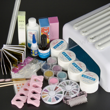 New Pro 36W UV GEL White Lamp UV Gel Nail Art Tools Sets Kits nail gel nails & tools nail polish kit 233