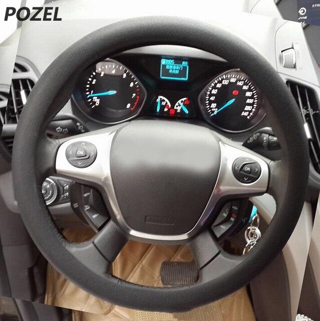 Car Steering Wheel Cover Warm Plush Universal Interior