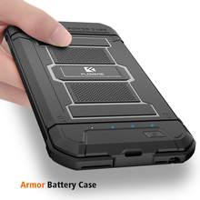 Floveme Прохладный Зарядное устройство чехол для iPhone 6 7 8 внешних Перезаряжаемые Запасные Аккумуляторы для телефонов зарядки чехол для iphone 8 7 6 S плюс