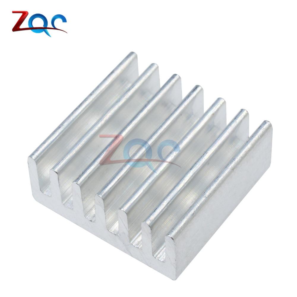 10Stks DIY LED Power Memory Chip IC High Quality 14x14x6mm Aluminum Heat Sink