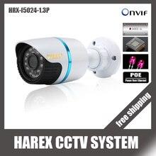 1280*960 وعاء 1.3mp onvif للماء ir cut للرؤية الليلية التوصيل والتشغيل البسيطة رصاصة كاميرا ip ، شحن مجاني