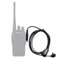 עבור baofeng uv 5r 10pcs Retevis PTT MIC ב-האוזן אוזניות אפרכסת מכשיר הקשר עבור KENWOOD Baofeng UV-5R BF-888s Retevis H777 HYT C9003A (5)
