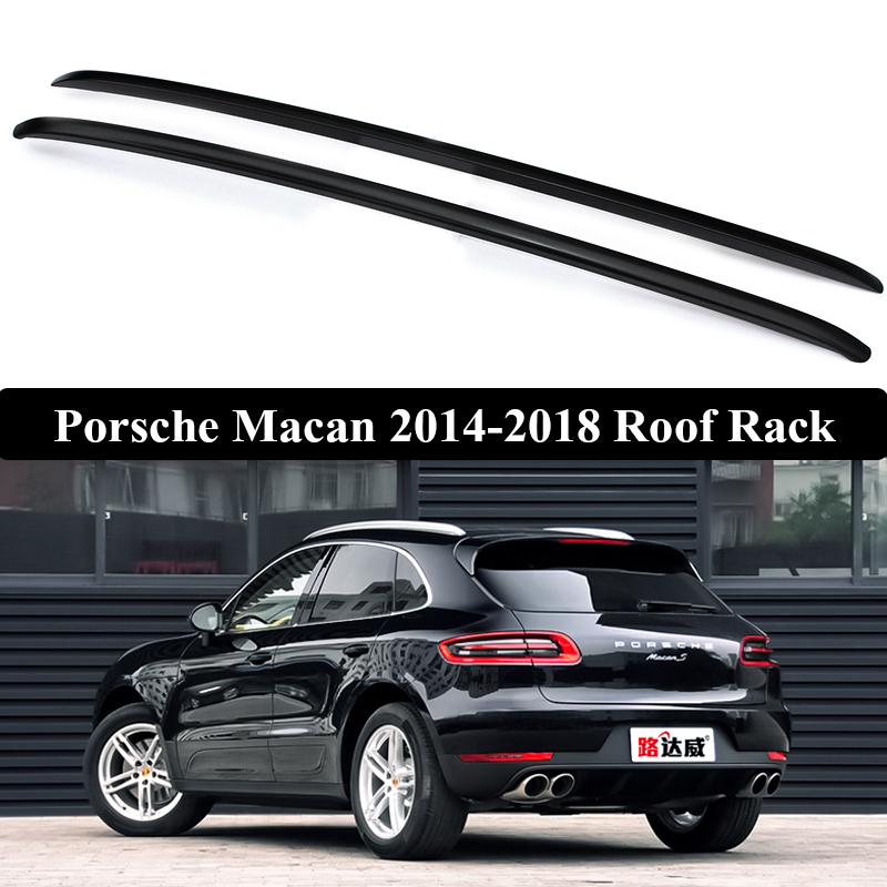JIOYNG For Porsche Macan 2014 2019 Roof Rack Rails Bar