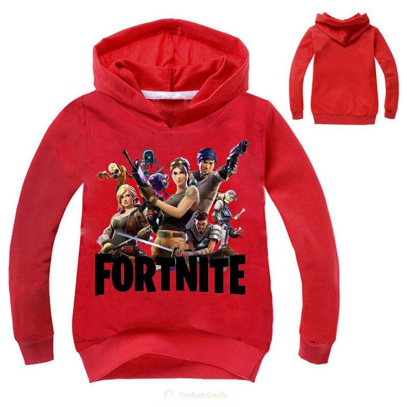 Vestidos Kids Hoodies For Boys And Girls Funny Fortnite