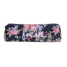 Flower Fresh 3D printing Cosmetic Cases Pencil bag who cares 2016 Fashion New necessaire makeup bag trousse de maquillage bags