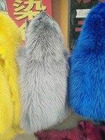 Фактические Подлинная окрашенные белый мех енота кожи Пелт/енота загара меха для одежды