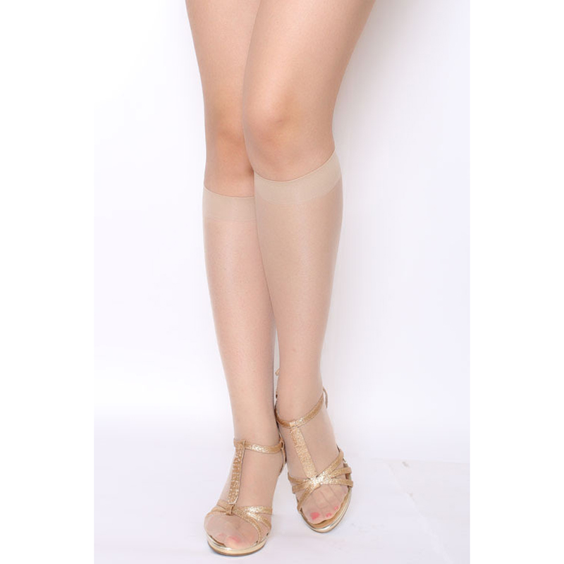 Summer Female Stockings For Women Fashion Knee Highs Long Sockken Transparent Silk Long Stockings For Woman Lady 6pieces=3pairs