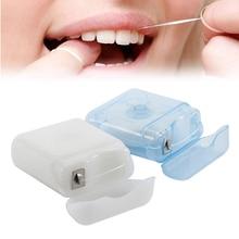 Portable Dental Floss Interdental Brush Floss Pick 50M Dental Care Picks Tooth Cleaner Health Hygiene Oral Care Tool