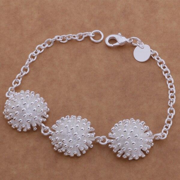 Bright Sl-ah081 Wholesale Silver Plating Bracelet, 925 Stamped Silver Fashion Jewelry Fireworks /berajvya Adqaiuxa
