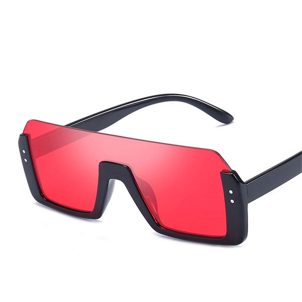 13dd5b36f Compre NEW Oversized Metade Quadro Óculos De Sol Dos Homens Nova ...