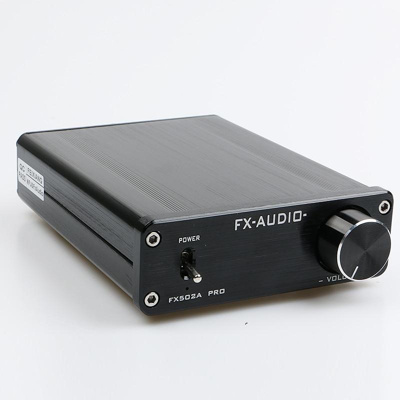 2017 NEW FEIXIANG FX-AUDIO FX502A PRO HIFI 2.0 TA2024 TA2021 MINI AUDIO High Power Digital Amplifier 50W*2 feixiang fx 8803 diy 3w x 2 digital power amplifier board w tuning green