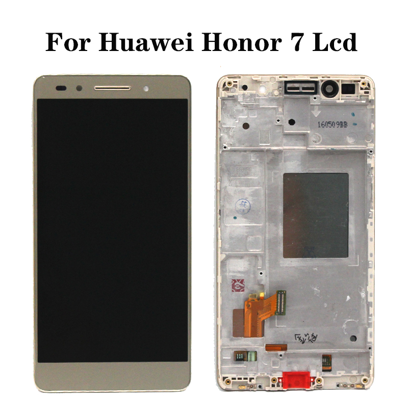 5.2 inch For HUAWEI Honor 7 LCD Display Touch Screen Digitizer with Frame PLK-TL01H PLK-L01 PLK-UL00 PLK-AL10 LCD Assembly5.2 inch For HUAWEI Honor 7 LCD Display Touch Screen Digitizer with Frame PLK-TL01H PLK-L01 PLK-UL00 PLK-AL10 LCD Assembly