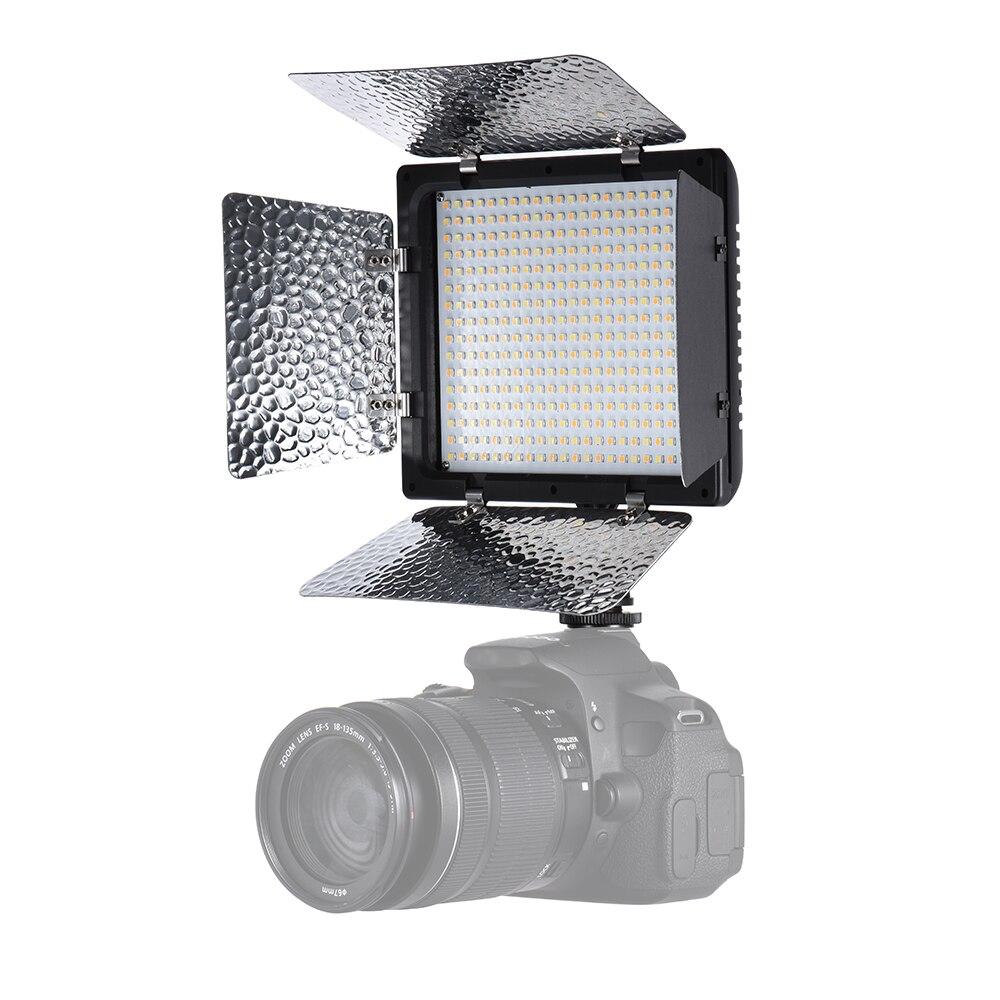 Andoer W368 II double couleur température LED lumière vidéo 3200 K 6000 K luminosité réglable photographie lumière 368 LED panneau lumineux-in Éclairage photographique from Electronique    2