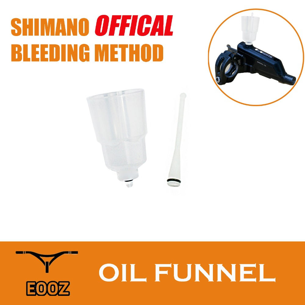 EOOZ Bicycle Disc Brake Bleed Kit Oil Funnel Oil Stopper For Shimano MTB And Road Hydraulic Disc Brake Fit Shimano SM-DISC