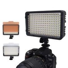 Nanguang CN-160 CN 160 LED Video Camera LED Light DV Camcorder Photo Lighting 5400K For Canon Nikon VS Wansen W160