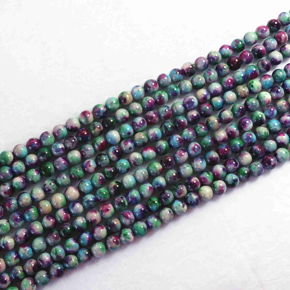 Popular Multi Colored Jade Beads-Buy Cheap Multi Colored Jade ...