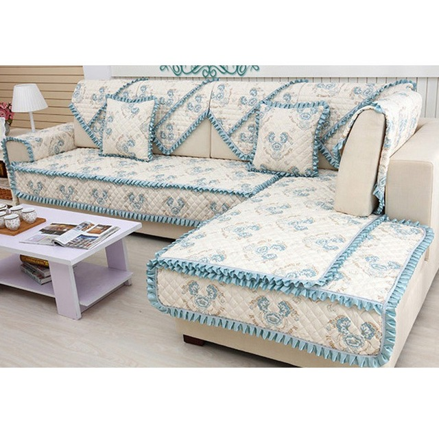 Superb Top Selling European Style Floral Sofa Mat Cushion Sofa Slipcover Non Slip  Loveseat Couch Cover