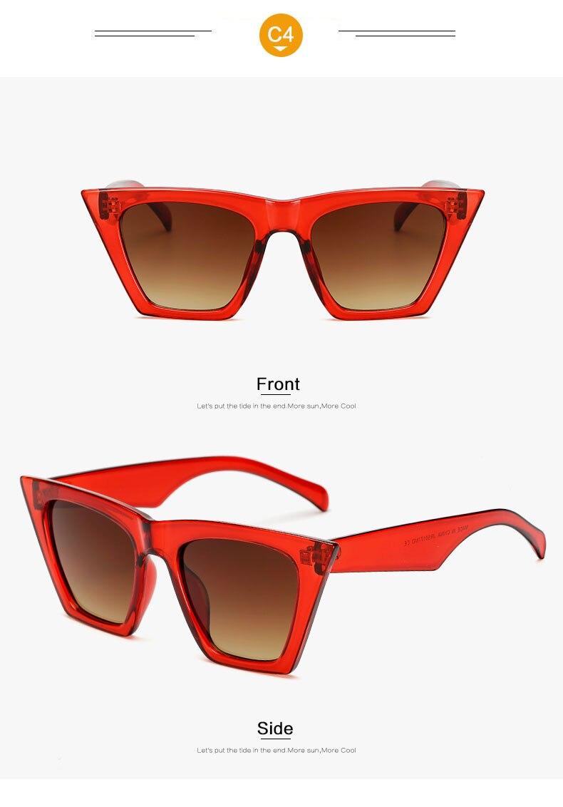 HTB1csoDl4HI8KJjy1zbq6yxdpXaN - AFOFOO Fashion Women Sunglasses Cat Eye Glasses Lady Brand Designer Retro Sun glasses UV400 Shades Eyewear Oculos de sol