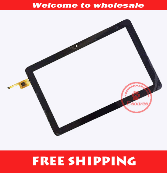 ФОТО Black Free shipping 10.1 inch tablet capacitive touch screen panel digitizer 101217R01-V1